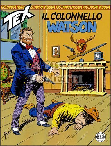 TEX NUOVA RISTAMPA #   291: IL COLONNELLO WATSON