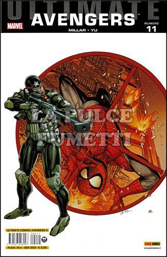 ULTIMATE COMICS AVENGERS  #    11