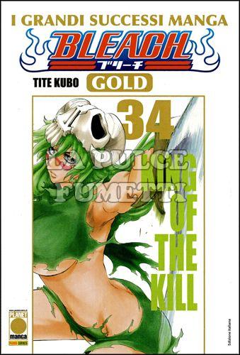 BLEACH GOLD DELUXE #    34