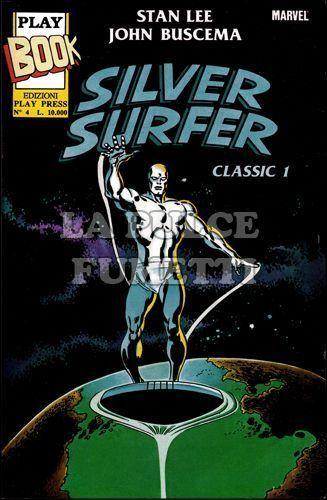 PLAY BOOK SILVER SURFER CLASSIC  1/4 COMPLETA