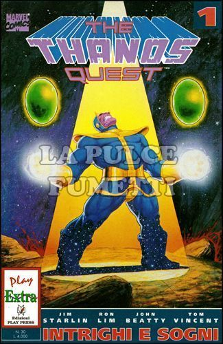 THANOS QUEST 1/2 COMPLETA PLAY EXTRA 30/31