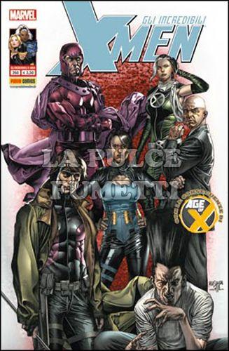 INCREDIBILI X-MEN #   260