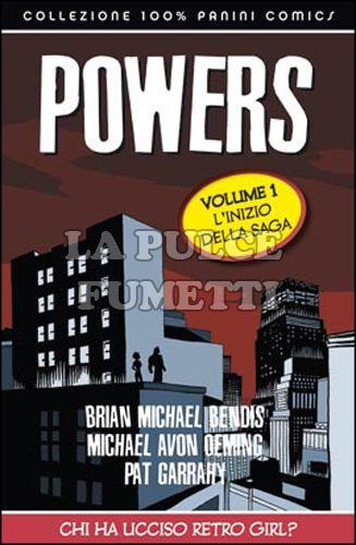 100% PANINI COMICS - POWERS #     1: CHI HA UCCISO RETRO GIRL? - RISTAMPA