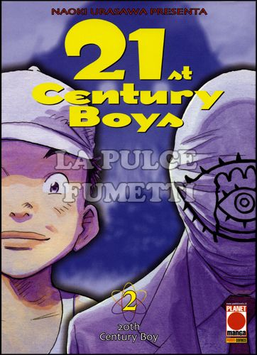 21ST CENTURY BOYS #     2 - 1A RISTAMPA