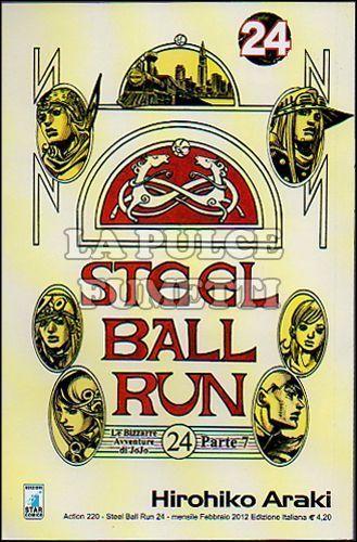 ACTION #   220 - JOJO STEEL BALL RUN 24