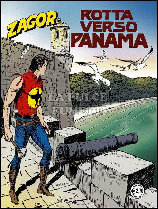 ZENITH #   610 - ZAGOR 559: ROTTA VERSO PANAMA