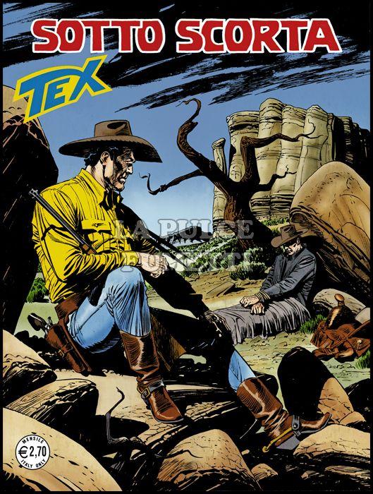 TEX GIGANTE #   616: SOTTO SCORTA