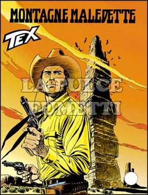 TEX GIGANTE #   479: MONTAGNE MALEDETTE