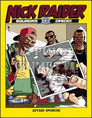 NICK RAIDER #    76: AFFARI SPORCHI