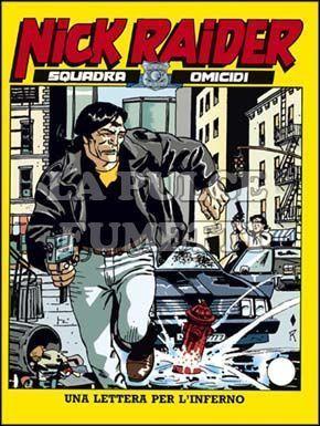 NICK RAIDER #    81: UNA LETTERA PER L'INFERNO
