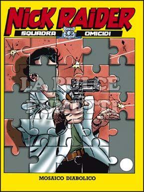 NICK RAIDER #    92: MOSAICO DIABOLICO