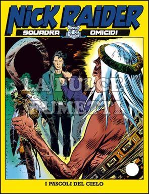 NICK RAIDER #   108: I PASCOLI DEL CIELO