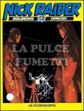 NICK RAIDER #   183: LA SCONOSCIUTA