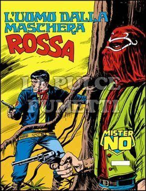 MISTER NO #     9: L'UOMO DALLA MASCHERA ROSSA