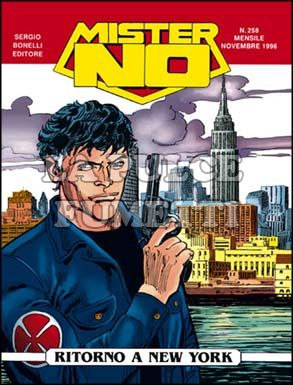 MISTER NO #   258: RITORNO A NEW YORK