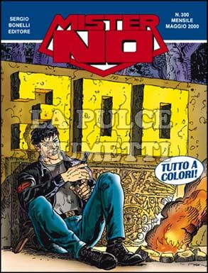 MISTER NO #   300: MISTER NO 300      A COLORI