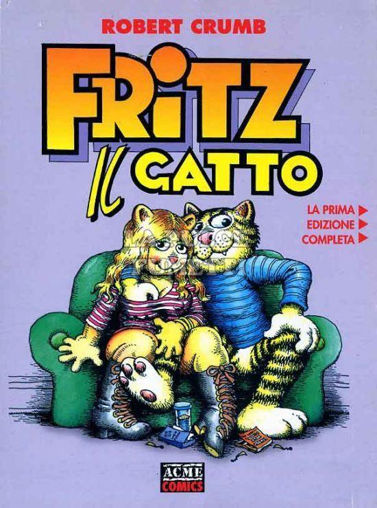 ACME COMICS #     6 - FRITZ IL GATTO  1A EDIZIONE
