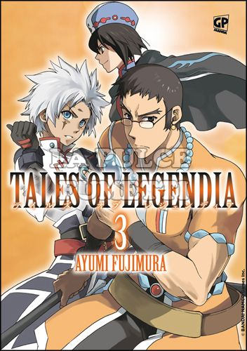 TALES OF LEGENDIA #     3