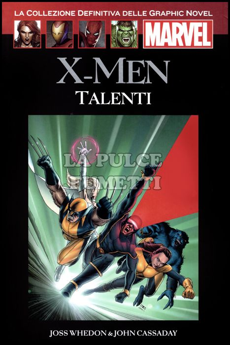 LA COLLEZIONE DEFINITIVA DELLE GRAPHIC NOVEL MARVEL #     2 - X-MEN: TALENTI