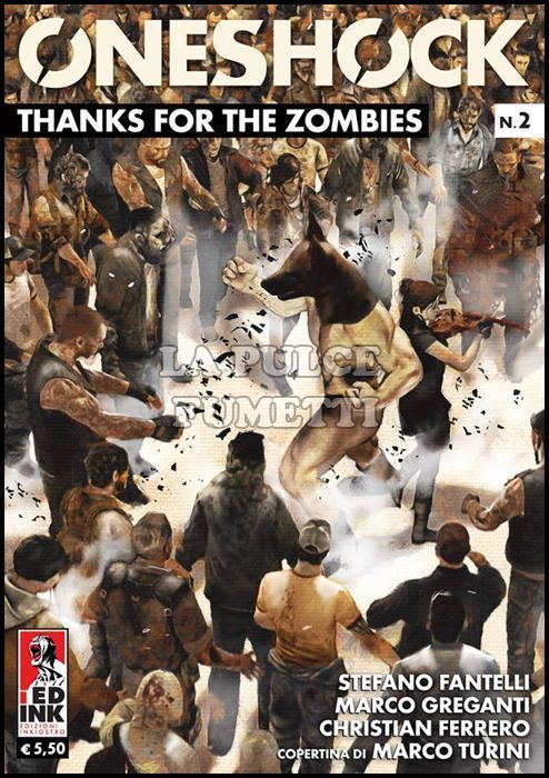 ONESHOCK #     2 - THANKS FOR THE ZOMBIES
