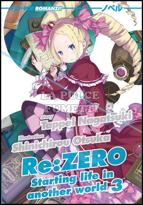 RE:ZERO ROMANZO #     3: STARTING LIFE IN ANOTHER WORLD 3 - LIGHT NOVEL