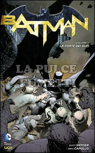 DC LIBRARY - DC NEW 52 LIMITED - BATMAN #     1: LA CORTE DEI GUFI