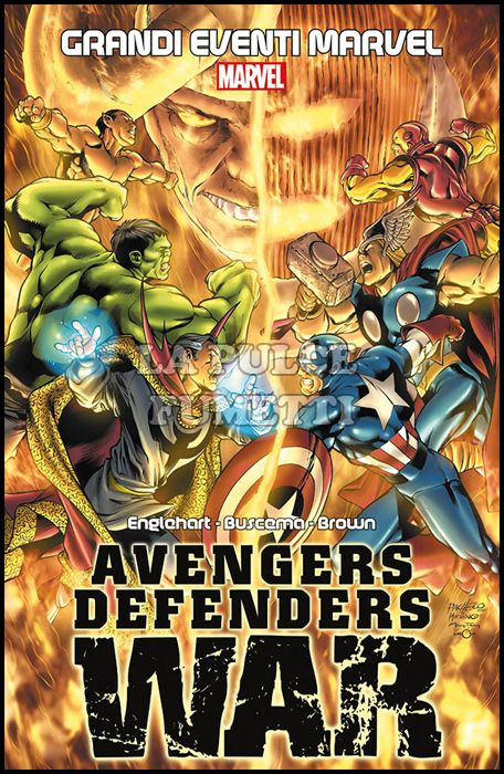 GRANDI EVENTI MARVEL - AVENGERS / DEFENDERS WAR