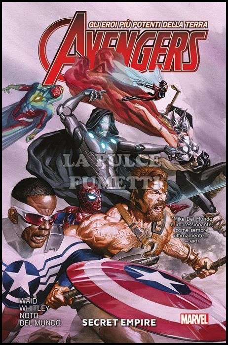 MARVEL COLLECTION - AVENGERS 2A SERIE #     2: SECRET EMPIRE