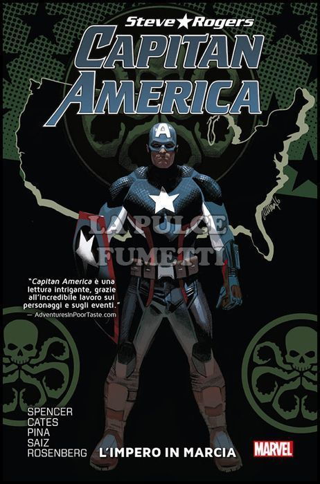 MARVEL COLLECTION - CAPITAN AMERICA STEVE ROGERS #     2: L'IMPERO IN MARCIA