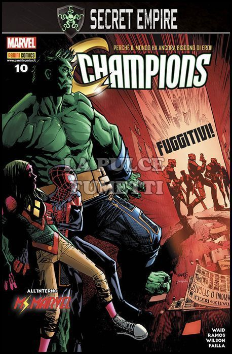 CHAMPIONS #    10 - SECRET EMPIRE