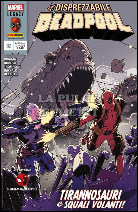 DEADPOOL #   112 - MARVEL LEGACY