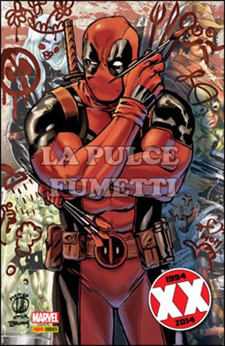 DEADPOOL #    35 - DEADPOOL 4 - MARVEL NOW! - VARIANT COVER XX METALLIZZATA