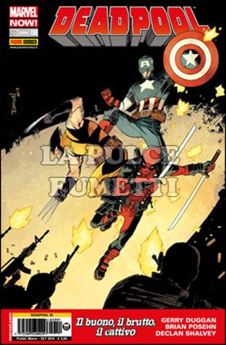 DEADPOOL #    39 - DEADPOOL 8 - MARVEL NOW!