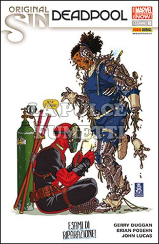 DEADPOOL #    47 - DEADPOOL 16 - ORIGINAL SIN - ALL-NEW MARVEL NOW!