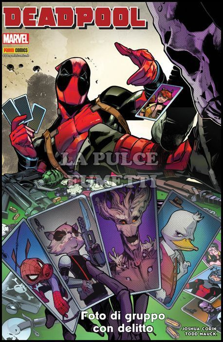 MARVEL ICON #    33 - DEADPOOL: FOTO DI GRUPPO CON DELITTO