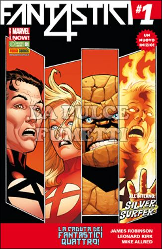 FANTASTICI QUATTRO #   361 - FANTASTICI QUATTRO 1 - ALL-NEW MARVEL NOW!