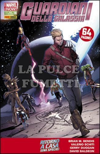 GUARDIANI DELLA GALASSIA #    28 - ALL-NEW MARVEL NOW!