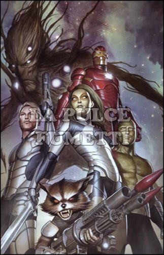 GUARDIANI DELLA GALASSIA #     9 - MARVEL NOW! - INFINITY TIE-IN - VARIANT COVER