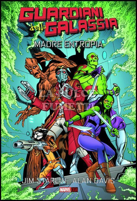MARVEL ORIGINAL GRAPHIC NOVEL - GUARDIANI DELLA GALASSIA: MADRE ENTROPIA