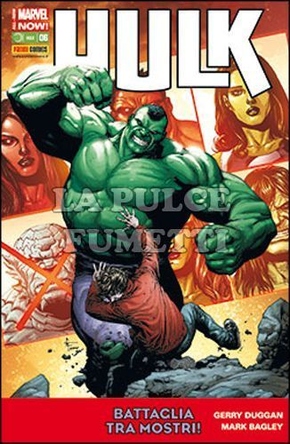 HULK E I DIFENSORI #    33 - HULK 6 - ALL-NEW MARVEL NOW!
