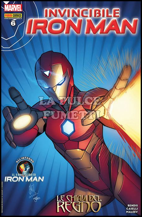 IRON MAN #    55 - INVINCIBILE IRON MAN 6