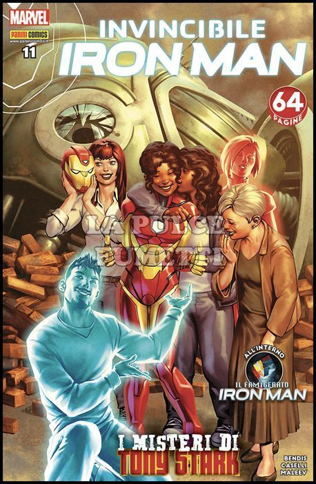 IRON MAN #    60 - INVINCIBILE IRON MAN 11