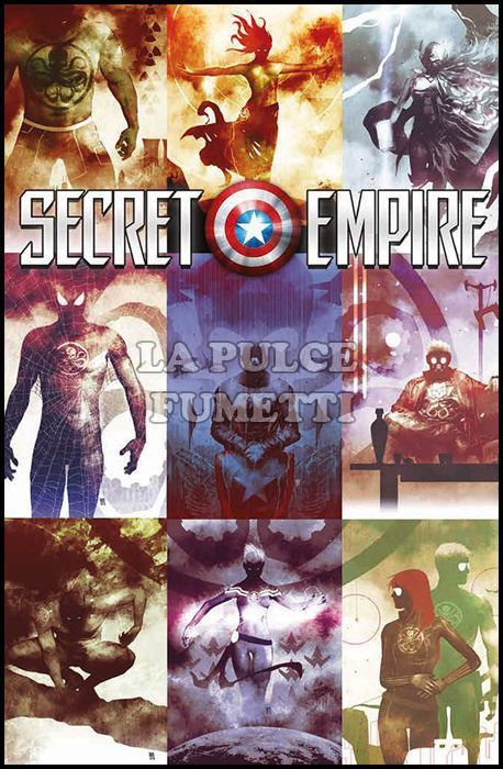 MARVEL MINISERIE #   198 - SECRET EMPIRE 10 - VARIANT FX