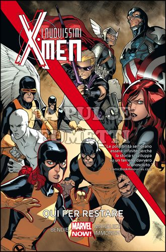 MARVEL COLLECTION - I NUOVISSIMI X-MEN #     2: QUI PER RESTARE