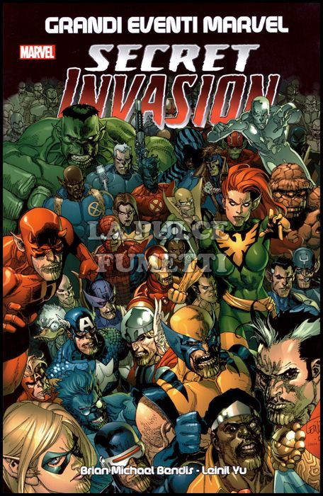 GRANDI EVENTI MARVEL - SECRET INVASION - 2A RISTAMPA