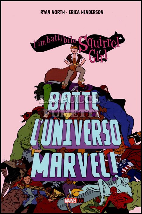 MARVEL ORIGINAL GRAPHIC NOVEL - L'IMBATTIBILE SQUIRREL GIRL BATTE L'UNIVERSO MARVEL