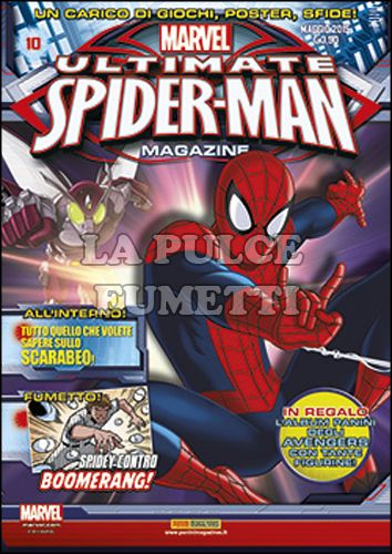 PANINI COMICS MEGA #    45 - ULTIMATE SPIDER-MAN MAGAZINE 10