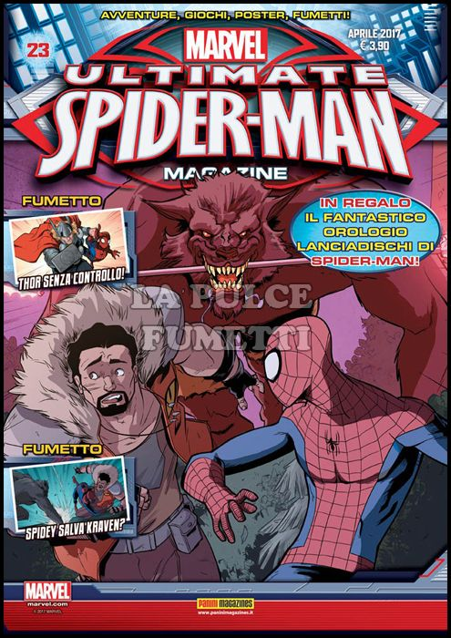 PANINI COMICS MEGA #    58 - ULTIMATE SPIDER-MAN MAGAZINE 23