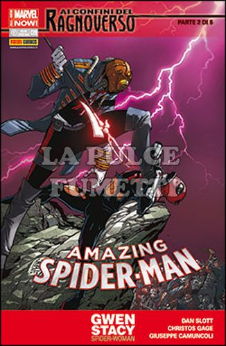 UOMO RAGNO #   623 - AMAZING SPIDER-MAN 9 - AI CONFINI DEL RAGNOVERSO 2 (DI 5) - ALL-NEW MARVEL NOW!