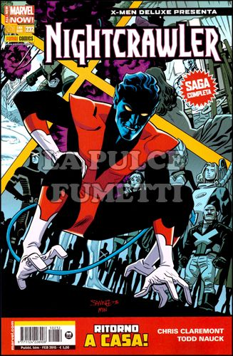 X-MEN DELUXE PRESENTA #   232 - NIGHTCRAWLER 1 - ALL-NEW MARVEL NOW!